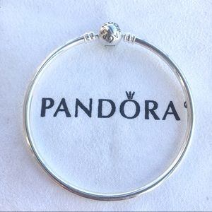 Pandora Jewelry - New Pandora sterling silver bangle bracelet